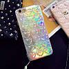 Чехол накладка на iPhone 6/6s  2в1 с выпуклыми сердечками