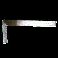Угольник столярный 300мм нержавейка/алюминий