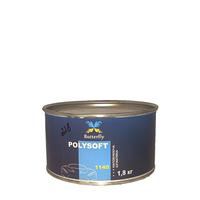 Мягкая наполняющая шпатлевка Butterfly POLYSOFT (кремовая) 1,8 кг