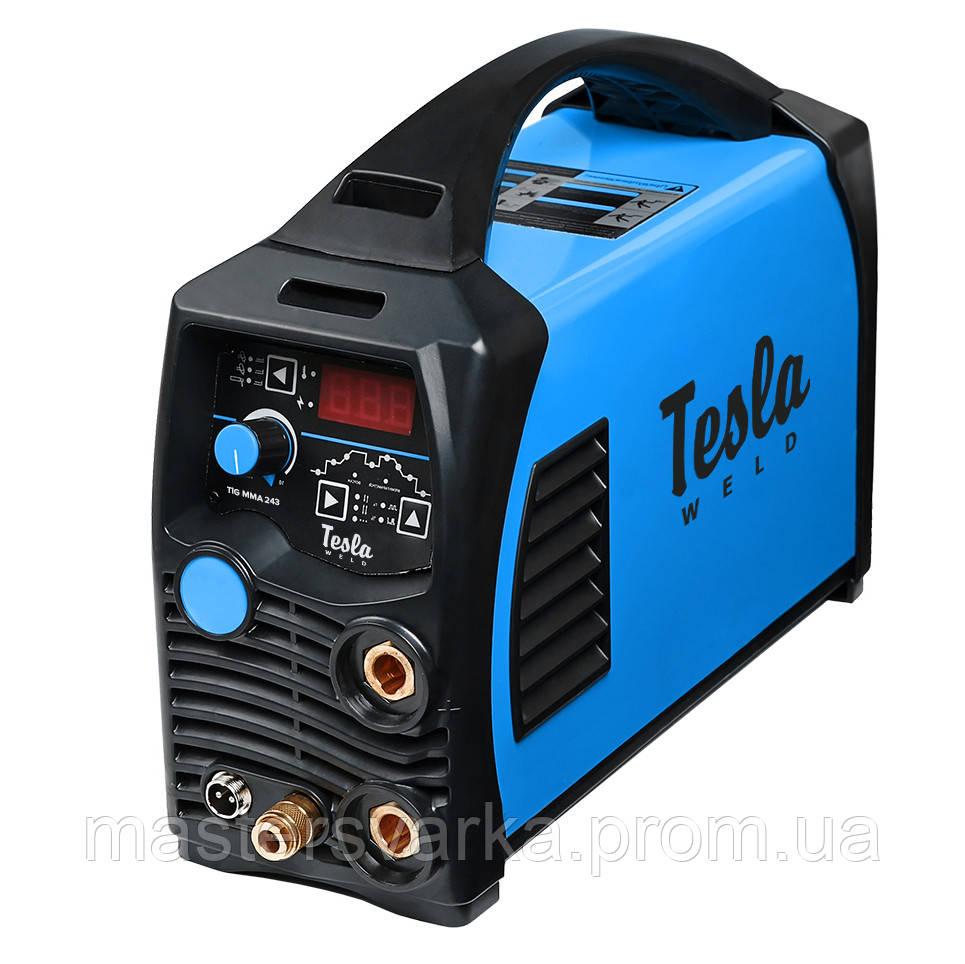 Аргонно-дуговой сварочный аппарат TESLA TIG 243