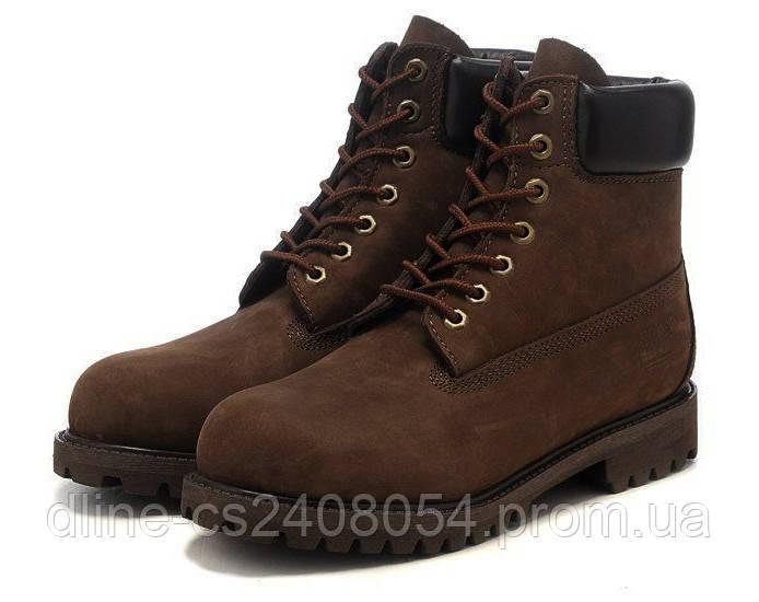Ботинки Timberland 6inch Коричневые