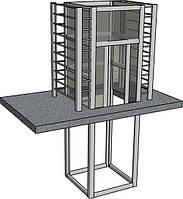 Проектирование металлокаркасных лифтовых шахт