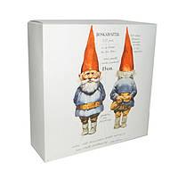 Набор подарочных коробок 14x14x5 см (Гном) 5шт.