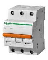 Автомат электрический Schneider Electric ВА63 3П 16A C