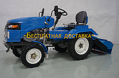 Мототракто TATA 15 л.с.  .SH120  ZUBR (с электростартером. фреза тракторная ) Акция бесплатная доставка