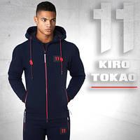 Спортивный костюм мужской Kiro tokao 137 т.синий-красный