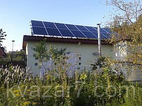 Солнечная электростанция  4 кВт сетевая крышная, фото 3