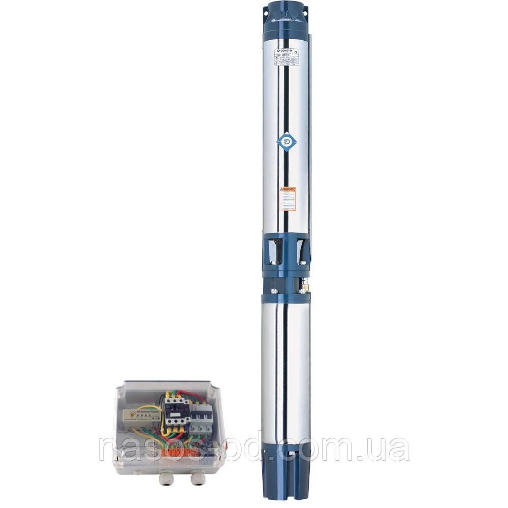 Насос центробежный глубинный Dongyin для скважин 380В 15.0кВт Hmax123м Qmax1000л/мин Ø151мм (кабель 4м)