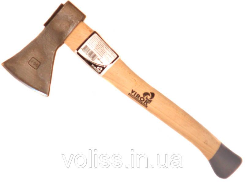 Топор малый с деревянной ручкой Virok 600гр (05v060)