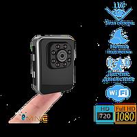 Мини видеокамера Wi-Fi R3 1920x1080 с мощной ночной подсветкой, фото 1