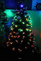 Светящаяся, светодиодная, оптоволоконная елка 120 см, 7 режимов, 120m