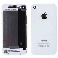 Задняя крышка для iPhone 4S белая, оригинал