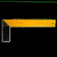 Угольник столярный 300мм метал