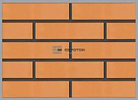 Кирпич лицевой Евротон, персик, фото 1
