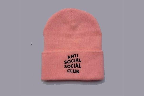 Зимняя модная шапка розового цвета с надписью мужская женская унисекс