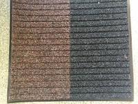 Решіток килимок чорний з коричневим 780х680 мм