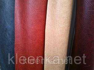 Серый мебельный кожзаменитель, ширина 96 см, фото 3