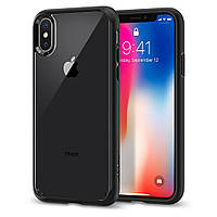 Чехол Spigen для iPhone XS Ultra Hybrid, Matte Black (057CS22129)
