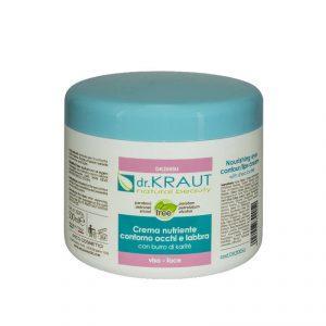 Питательный крем для зоны глаз и губ (с маслом Ши),Dr.Kraut Eye contour & lips nourishing cream, 500 мл