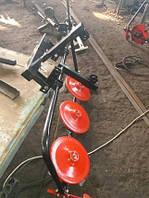 Косилка роторная КР-06 ШИП для мототрактора (под гидроцилиндр без ремня), фото 1
