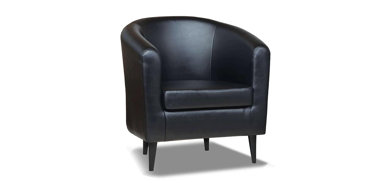 """Дизайнерское кожаное кресло """"Clark"""" (Кларк)"""