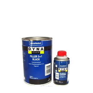 Грунт автомобильный Dyna Coat Filler Black 5+1 Hardener 1л