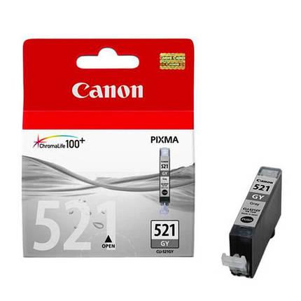 Картридж Canon CLI-521GY (Grey) MP980, фото 2