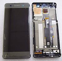 Дисплейный модуль Sony Xperia XA F3112/ F3111 (Black), 78PA3100040/ 78PA3100010/ 78PA3100090 оригинал