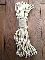 Фал канат плетенный d-6-12мм  25м в ассортимете