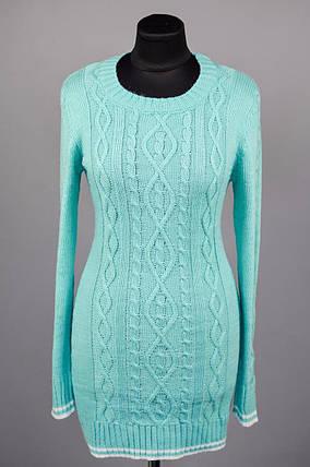 """Элегантный женский свитер """"Шерстяная нить"""" 48 размер норма, фото 2"""