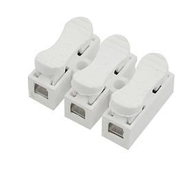 Соединительная клемма с самозажимными контактами тройная 10А 250V  Код.59087