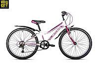 """Велосипед Intenzo Elite 24"""" 2018 подростковый для девочки"""