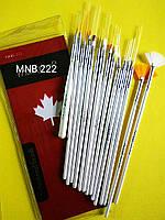 Набор кисточек для ногтевого дизайна из 15 инструментов MNB-222