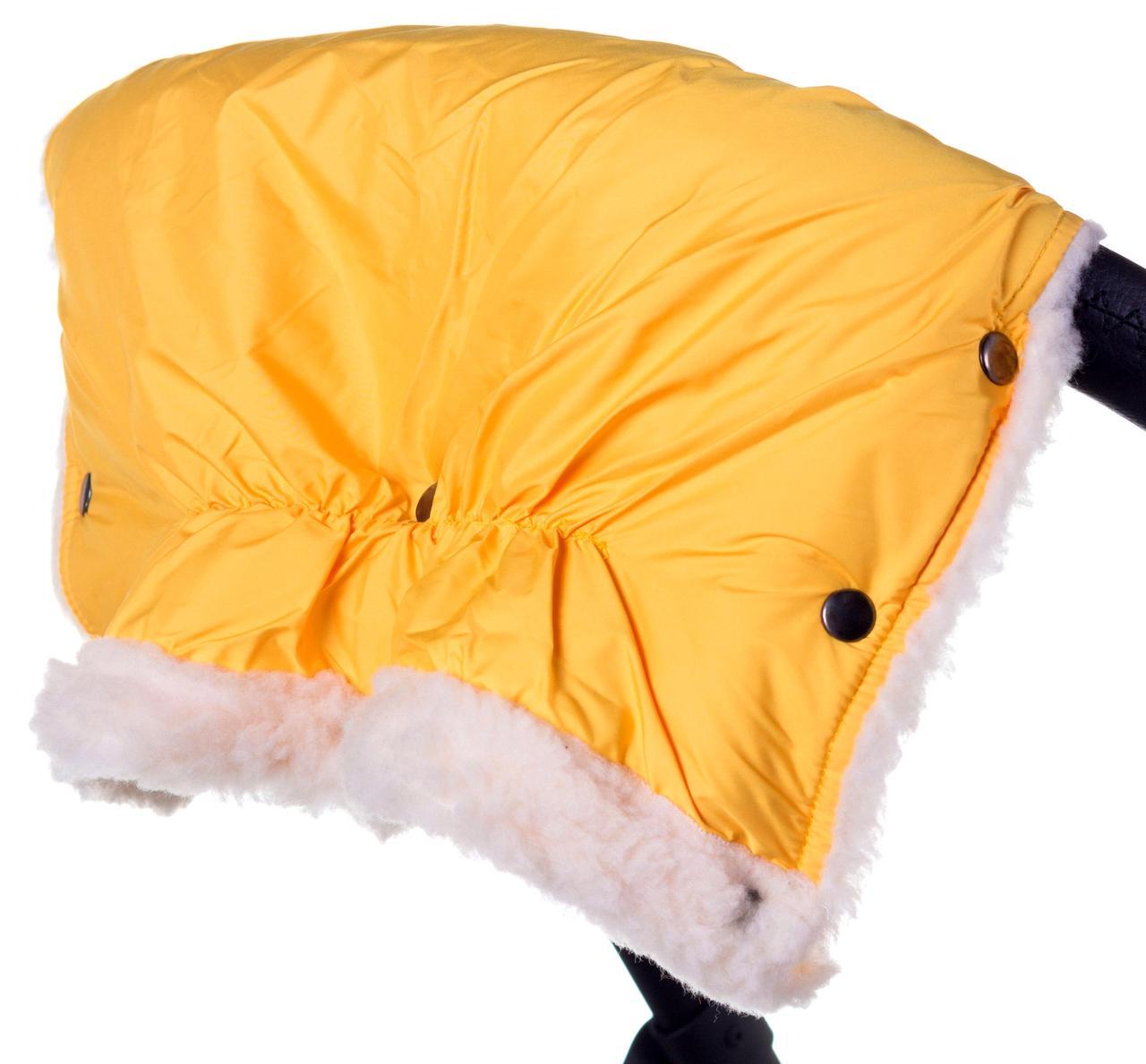Муфта Умка (Ткань-Плащевка) желтая