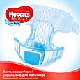 Подгузники Huggies Ultra Comfort 3 для мальчиков (5-9 кг), 56шт., фото 4