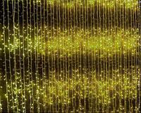 Уличная гирлянда Водопад 3Х2,5м, желтый 480 LED