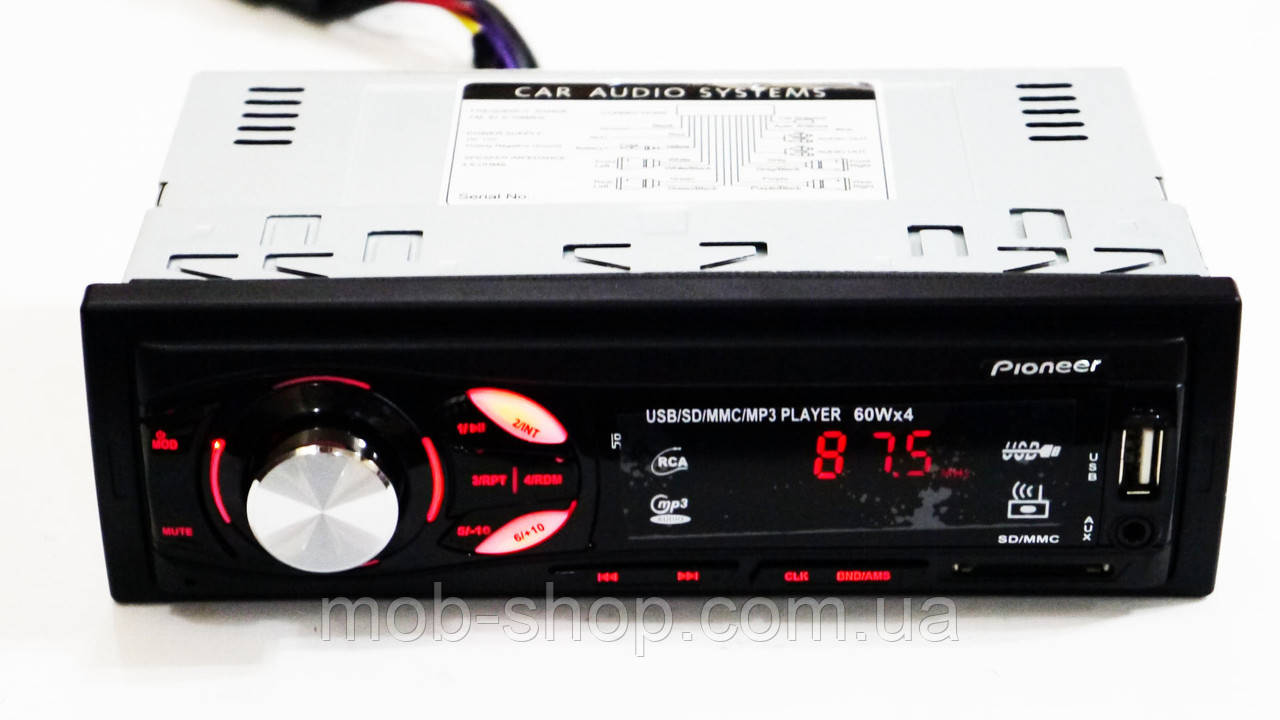 Автомагнитола пионер Pioneer MVH-4007U USB Sd AUX