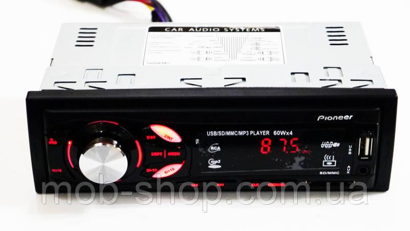 Автомагнитола Pioneer MVH-4007U Usb+Sd+Fm+AUX+пульт (4x50W)
