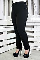 """Теплые женские брюки """"Зара"""" пояс р. 52-60"""