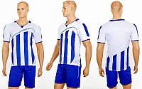 Футбольная форма Dinky CO-16003 (PL, р-р S-2XL, синий, шорты синие)