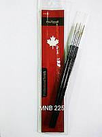 Набор кисточек для ногтевого дизайна из 3 инструментов MNB -225