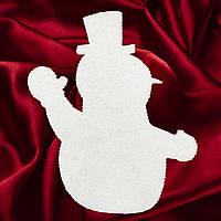 Снеговик из пенопласта  №1 (30см, 40см, 50см, 60 см, 70 см, 80 см, 90см, 100см)