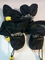 Обувь защитная для  миниатюрных собак  размер №3 (4.5 х3.7см), черный