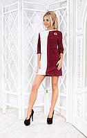 Платье ангора  вязка р-ры 42-48, фото 1