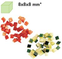 Диск 28111 кубики 8х8 для овощерезки Robot Coupe CL50/52/60, фото 2