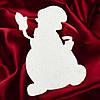 Снеговик из пенопласта  №2 (30см, 40см, 50см, 60 см, 70 см, 80 см, 90см, 100см)