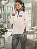 Женский флисовый комплект со штанами размер XL