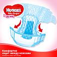 Подгузники Huggies Ultra Comfort 3 для девочек (5-9 кг), 56шт., фото 6