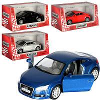 "Машина металл. ""Kinsmart"" Audi TT Coupe 2008, KT-5335-W"