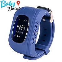 Детские умные часы Smart Watch GPS трекер Q50 Dark Blue / детские ЧАСЫ - ТЕЛЕФОН / Гарантия